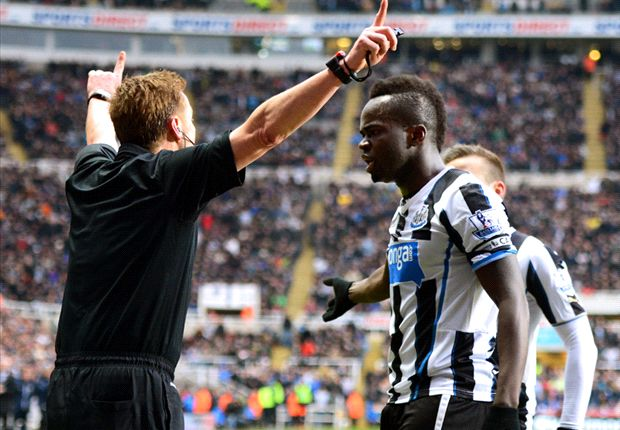 Newcastle 0-2 Manchester City: Pellegrini's table toppers survive Tiote controversy