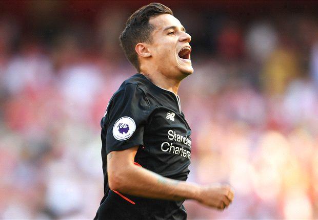 Arsenal 3-4 Liverpool: Coutinho inspires Klopp's men to thrilling win