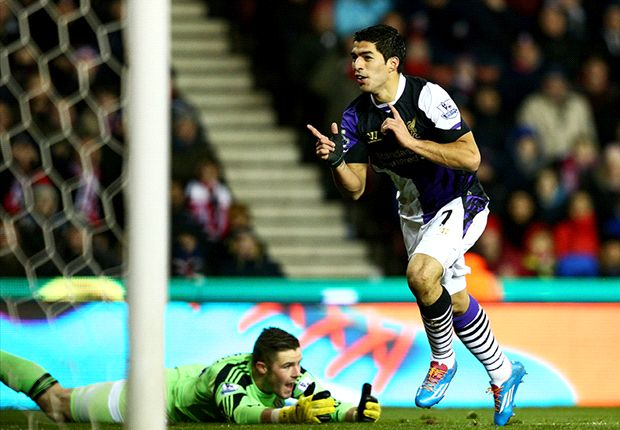 Stoke City 3-5 Liverpool: Sturridge and Suarez combine to seal Reds' return to top four