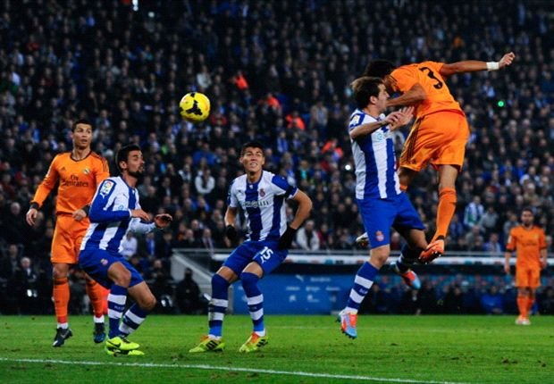 Pepe marca en el último partido entre ambos