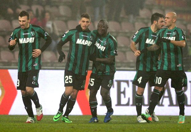 Sassuolo 4-3 AC Milan: History-maker Berardi leaves Rossoneri red-faced
