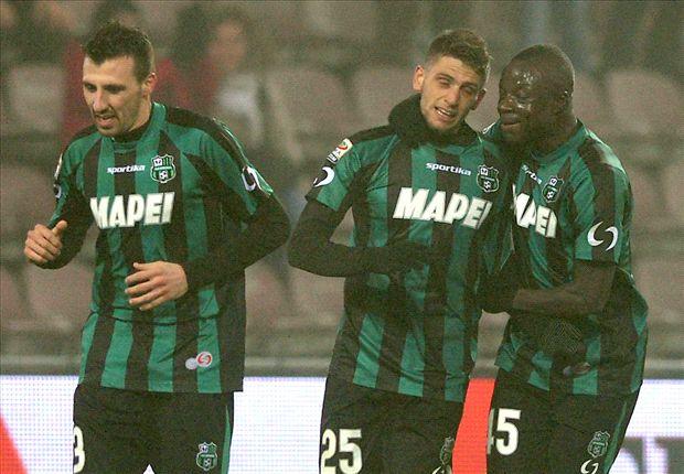 Empat Gol Domenico Berardi Benamkan AC Milan