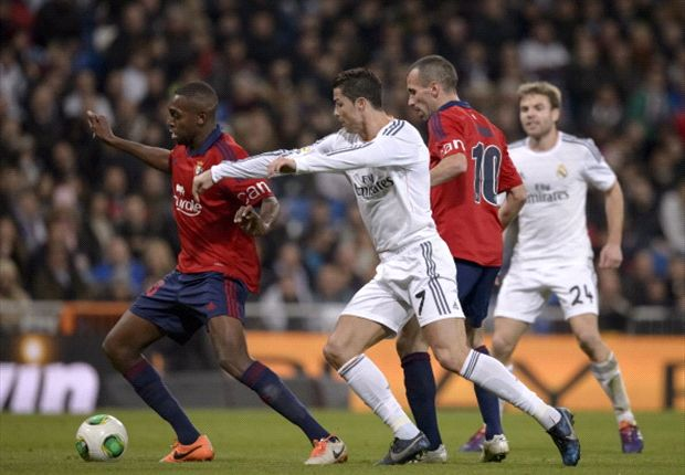 Las curiosidades del Real Madrid - Osasuna