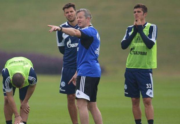 Schalke-Trainer Jens Keller hat zur Rückrunde größere taktische Spielräume