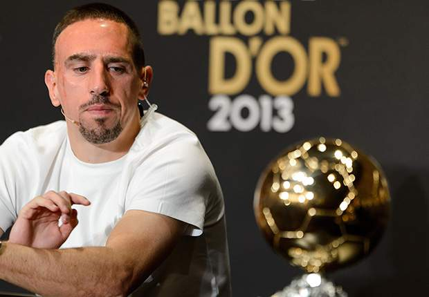 Nasri: Ribery will win 2014 Ballon d'Or if France win World Cup