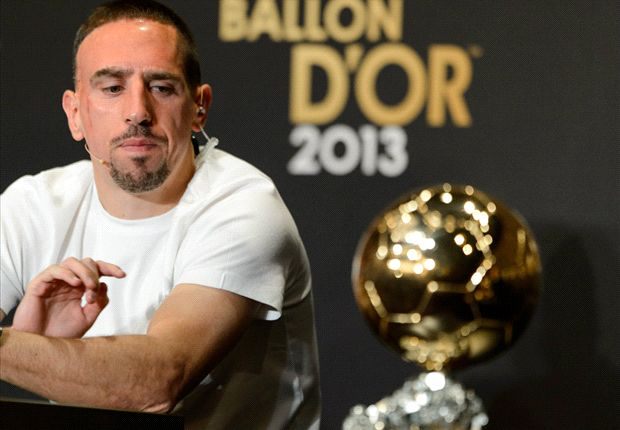 Ronaldo did not win anything & does not deserve Ballon d'Or, says Ribery