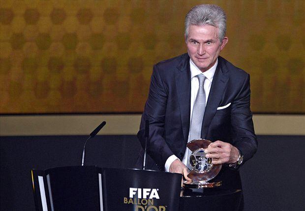 Jupp Heynckes gana el Balón de Oro al entrenador del año 2013