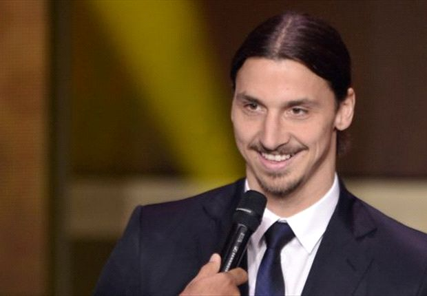 War bei der Ballon d'Or-Verleihung gut drauf: Zlatan Ibrahimovic
