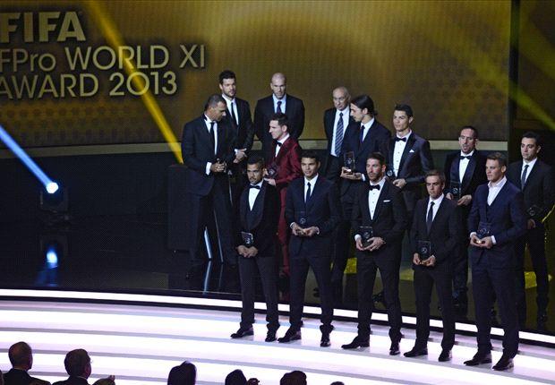 Die Weltelf des Jahres 2013