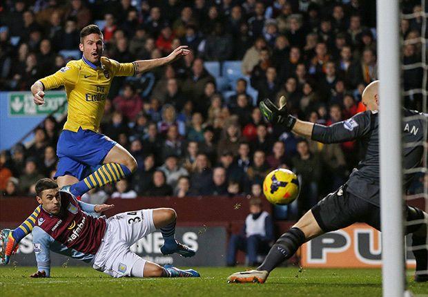 Tekuk Aston Villa, Arsenal Kembali Ke Puncak