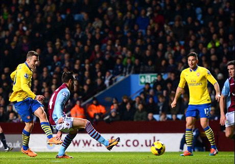 Villa Gunning For Arsenal Upset