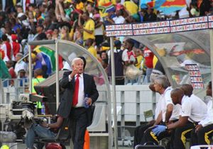 Gordon Igesund brought in Letsoaka as his assistant, the two having worked together for Bafana as well