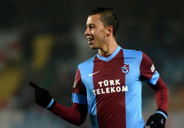 Emre Güral ist derzeit bei Trabzonspor der Shootingstar der Türkei