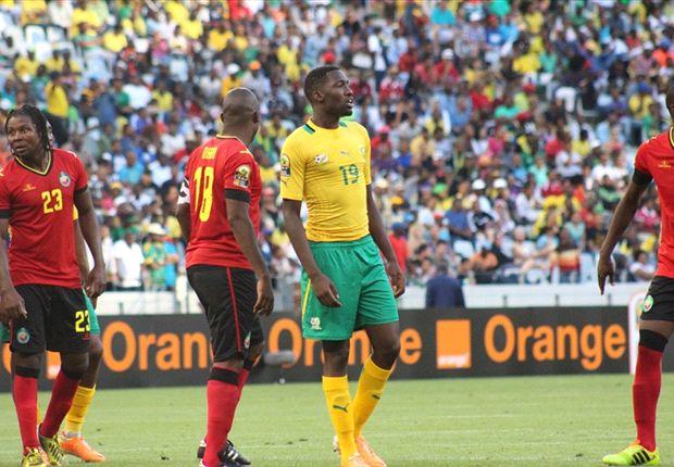 Bafana Bafana defender Buhle Mkhwanazi