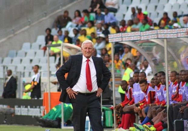 Gordon Igesund couldn't pull any miracles for Bafana against Brazil