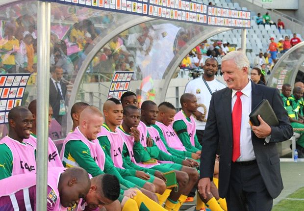 The Bafana coach was wrongly accused of influencing players to ask for more money