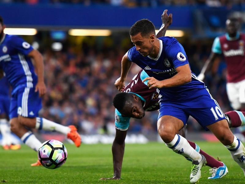"""Chelsea, Hazard adresse un message à Conte : """"J'aime jouer en tant que numéro 10"""""""