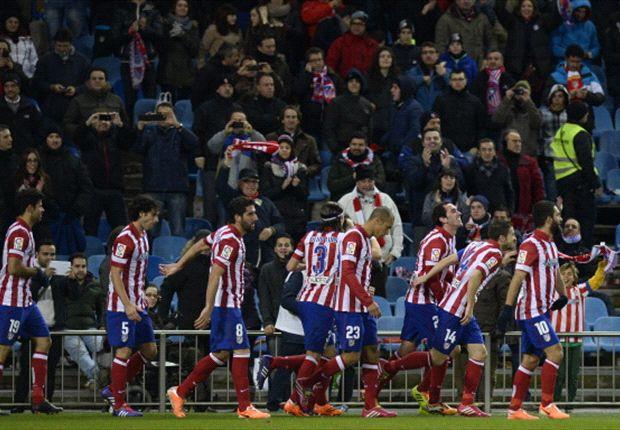 El Atlético está intratable