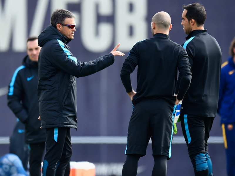 Luis Enrique 'won't play the rumours game' as Bravo exit talk builds