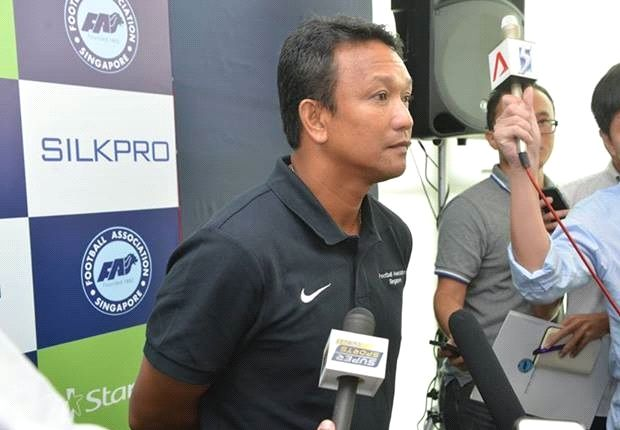 The new LionsXII coach hopes to get off to a winning start.