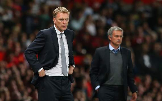 Jose Mourinho David Moyes  Manchester United  Chelsea  Premier League  08262013