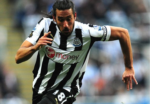 Jonas Gutierrez in the dark over Newcastle exclusion