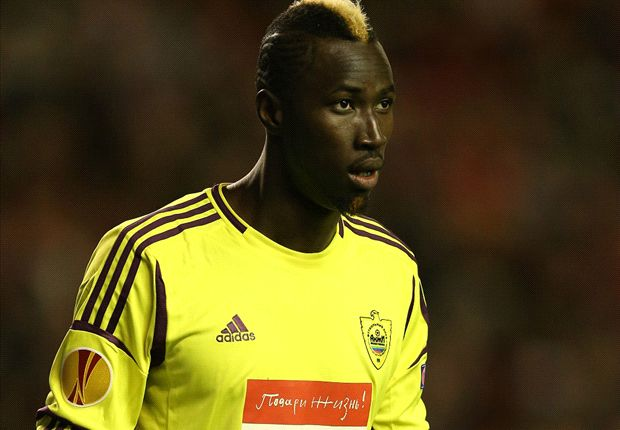 Monaco striker Lacina Traore joins Everton on loan
