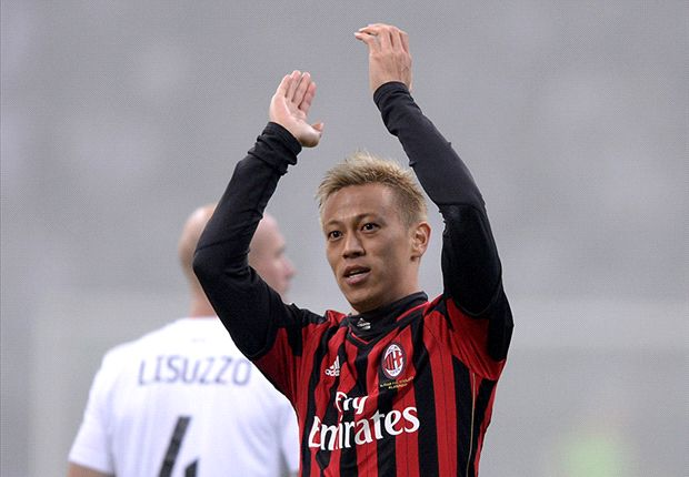AC Milan 3-1 Spezia: Honda opens account in Coppa Italia win