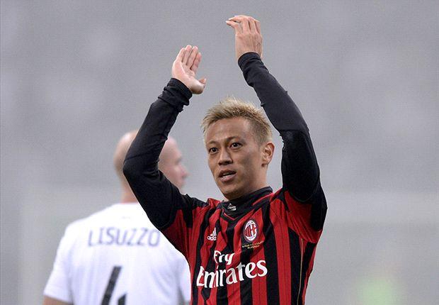 Keisuke Honda Cetak Gol Pertama, AC Milan Bungkam Spezia