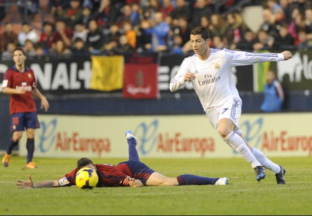 Osasuna 0-2 Real Madrid (agg 0-4): Ronaldo and Di Maria helped by howlers to Blancos cup win