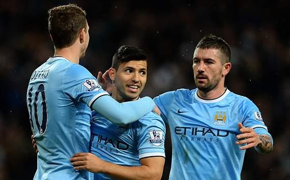 Sergio Aguero Manchester City v Blackburn Rovers - FA Cup 01152014