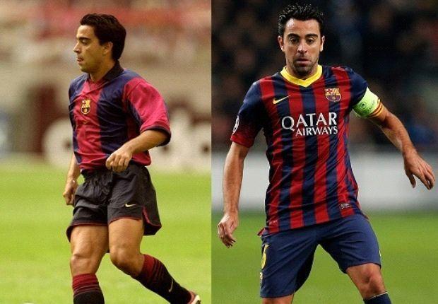 Xavi makes 700th Barcelona appearance