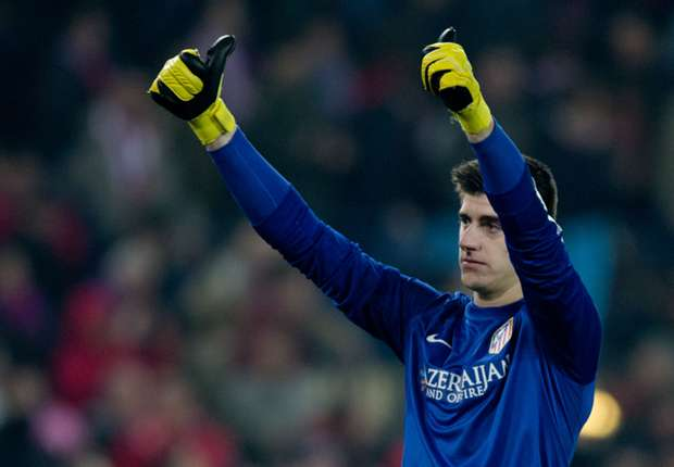 Courtois as vital to Atletico Madrid as Costa, says Garcia