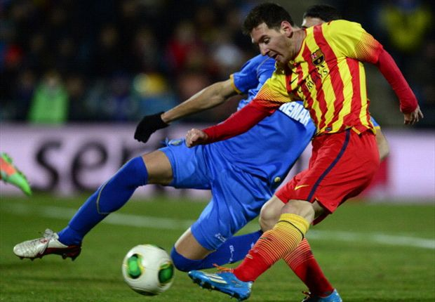Getafe 0-2 Barcelona (agg 0-6): Magical Messi double soured by Neymar injury