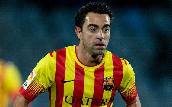 Xavi Barcelona Getafe Copa del Rey 01162014