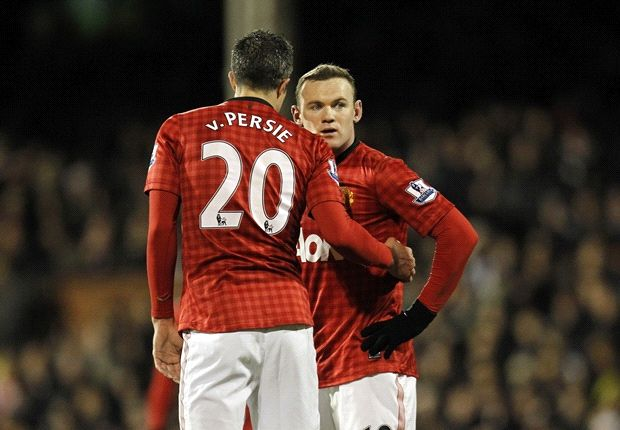 TEAM NEWS: Van Persie & Rooney miss Sunderland clash