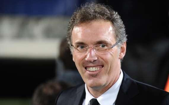 Paris Saint-Germain coach Laurent Blanc