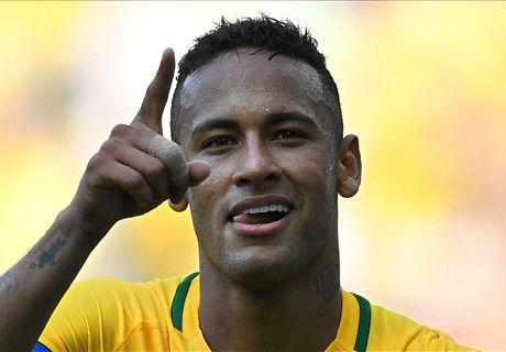 Barca let Neymar stay in Brazil