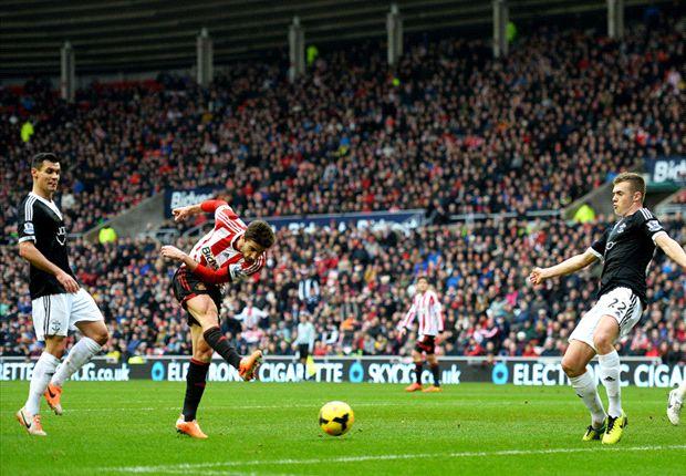 Sunderland 2-2 Southampton: Borini & Johnson save point for Poyet