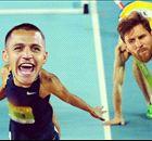 CR7, R10 e Neymar em esportes olímpicos