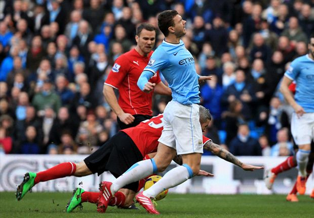 Bekuk Cardiff City, Manchester City Tembus 100 Gol Lebih