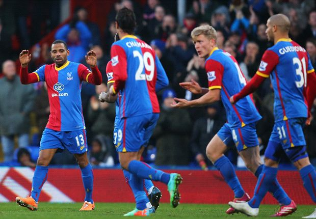 Crystal Palace 1-0 Stoke City: Puncheon lifts Eagles out of the drop zone