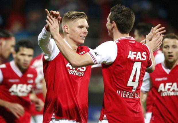Aron Johannsson scores in AZ victory over NAC Breda