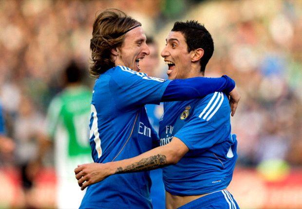 Luka Modric completó un encuentro sobresaliente