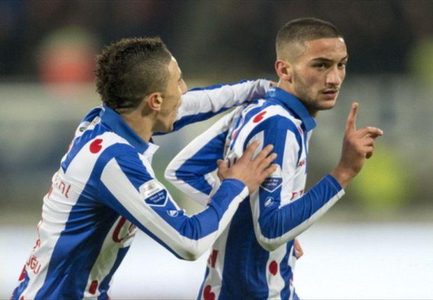 Hakim Ziyech zou op het lijstje staan van Ajax