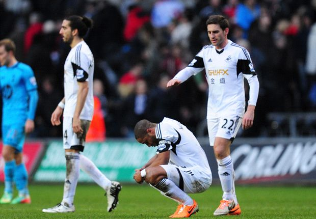 Swansea were embarrassing against West Ham, admits Williams