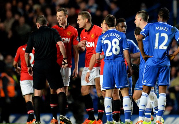 Vidic sees red as calamitous Manchester United have weaknesses ruthlessly exposed