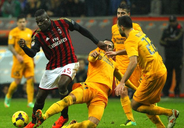 AC Milan 1-0 Verona: Balotelli gives Seedorf opening game win