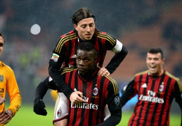 Balotelli dedicates win to Seedorf