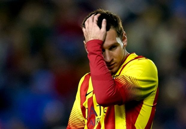 'Barca did everything' - Messi bemoans lack of luck in Levante